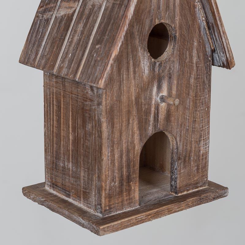 cabane a oiseaux allongee en bois 2 ouvertures home concept. Black Bedroom Furniture Sets. Home Design Ideas