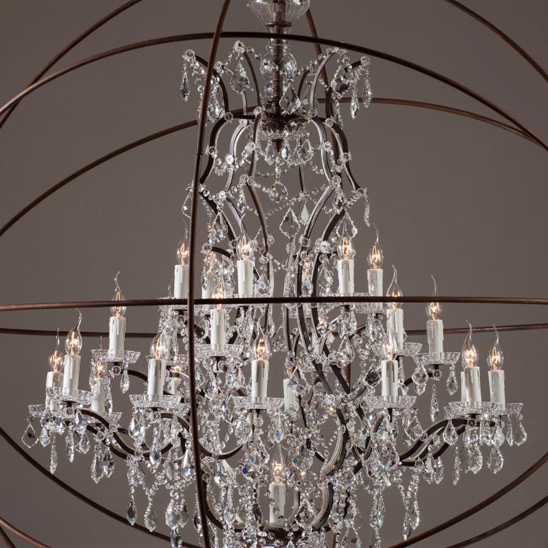 Люстра Gyro Crystal Chandelier Large - Home Concept интерьерные ...