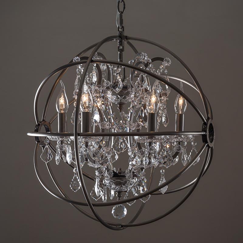 Люстра Gyro Crystal Chandelier Small - Home Concept интерьерные ...