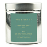 Candle In Tin - Natural Sage