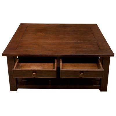 Wentworth Square Coffee Table Antique Oak
