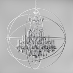 Gyro Crystal Chandelier Large