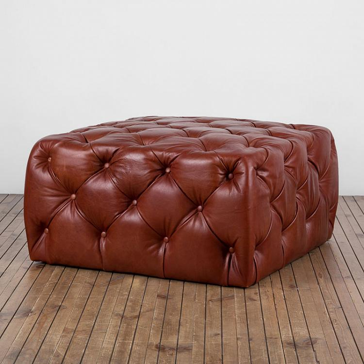 Квадратный пуфик Бенсон, M Benson Footstool Square Medium