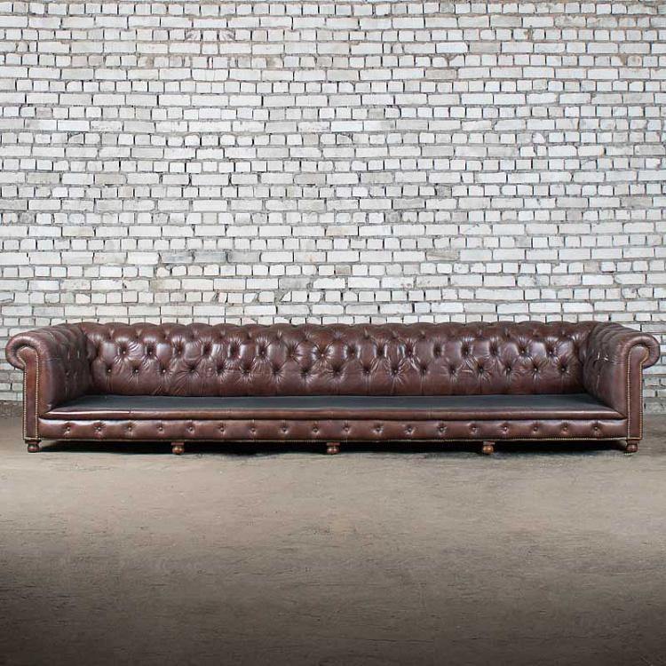 Шестиместный диван Вестминстер, набивка пером Westminster Feather 6 Seater