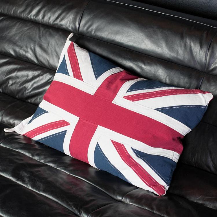 Декоративная подушка с флагом Великобритании, S Flag Cushion UK Small