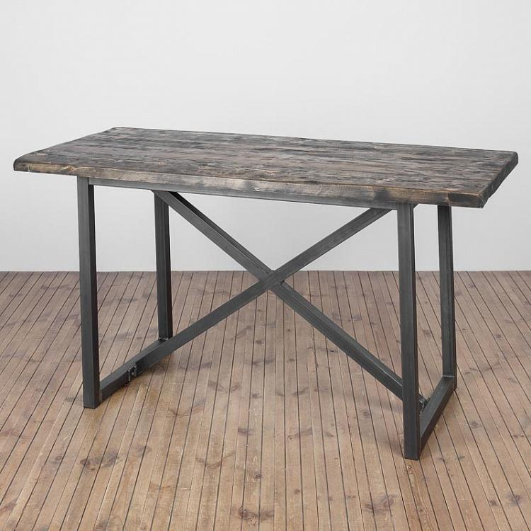 Обеденный стол Старый город, S Old Town Honey Brown Dining Table Small