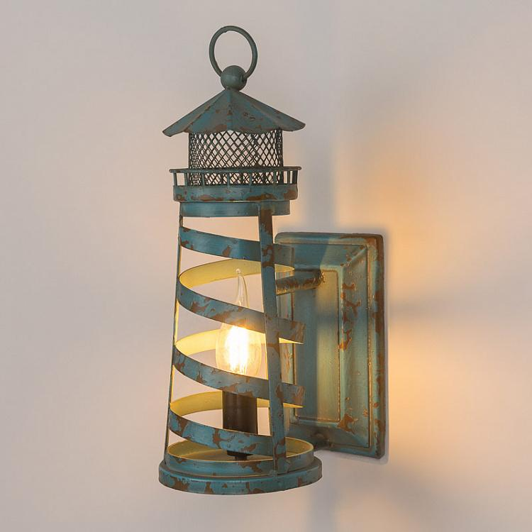 Бра Синий маяк Blue Lighthouse Wallsconce