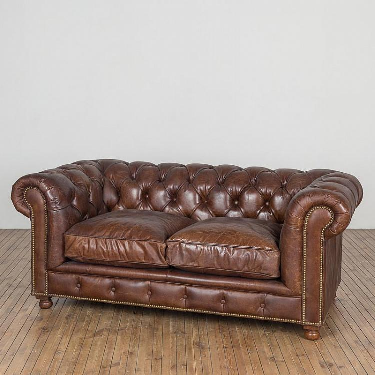 Двухместный диван Вестминстер, набивка пером Westminster Feather 2 Seater