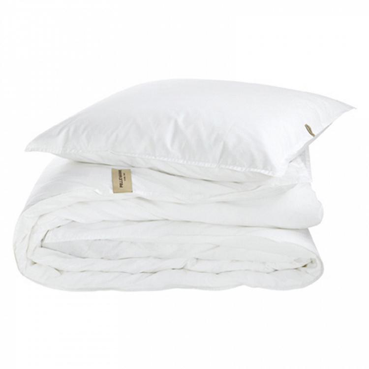 Белая наволочка из хлопка перкаль Авенюн, 50х60 см Avenyn Pillow Case All White 50x60 cm
