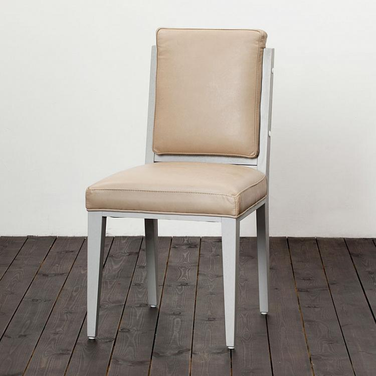 Стул, светлые ножки 17 Dining Chair, Taupe Wood
