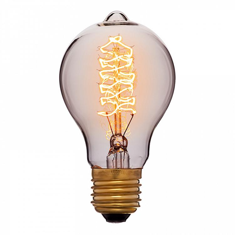 Лампа накаливания Эдисон Империал Винт E27 60W, золотая колба Edison Imperial Gold Screw E27 60W