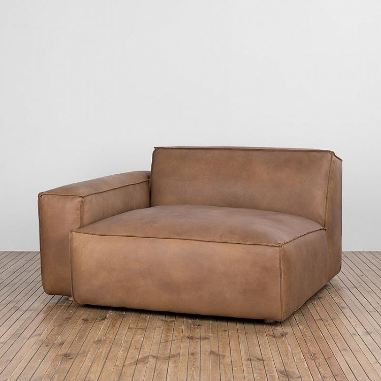 Диванный модуль Нирвана с левым подлокотником, L Nirvana Sectional LHF Large