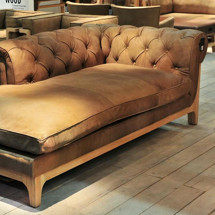 Диванный модуль Кокон Честерфилд, правый подлокотник F280 Cocoon Chesterfield RHF Chaise