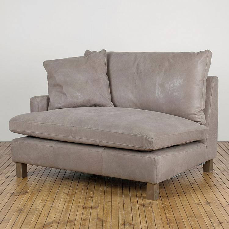 Диванный модуль Люкс, левый подлокотник Lux Sectional LHF Corner